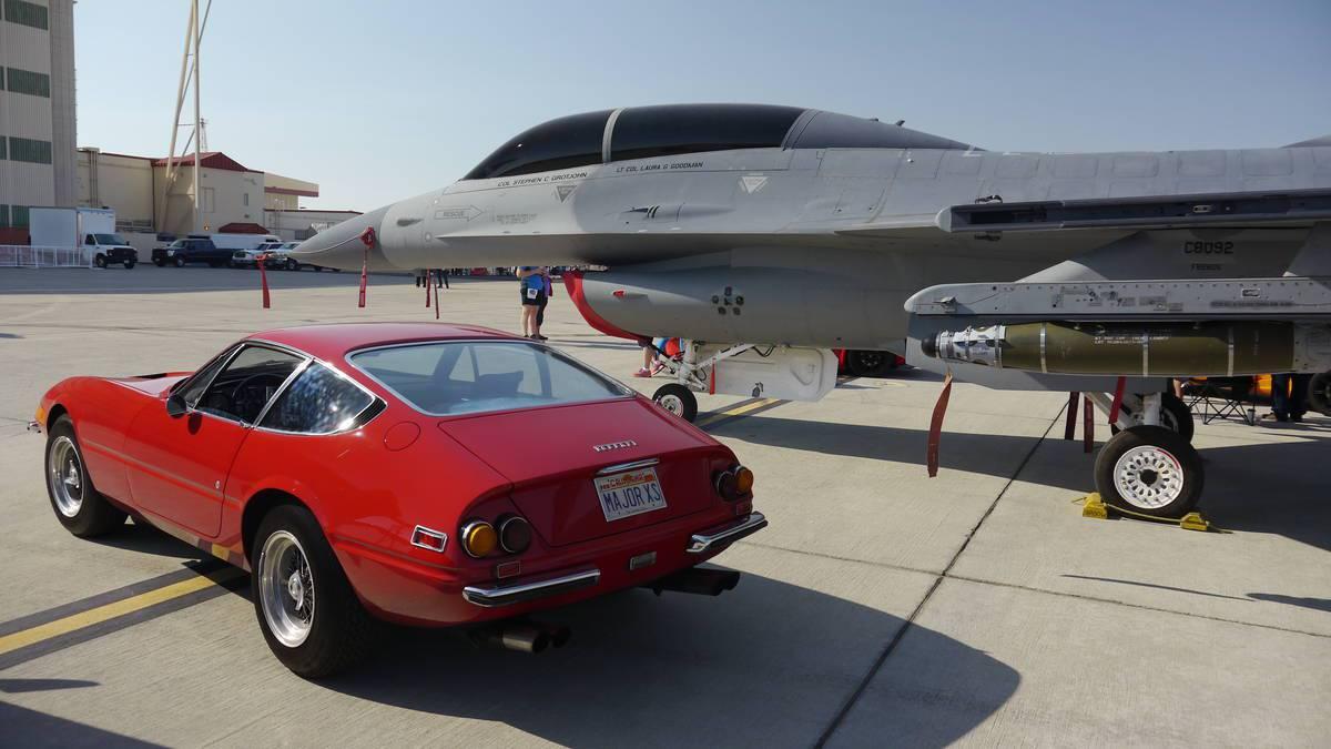 Ferrari Club helps celebrate Air Force's 70th Birthday at Edwards AFB –BuyTrucks.ca